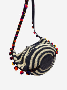 Sensi Studio Black & White Sensi Studio Handbags