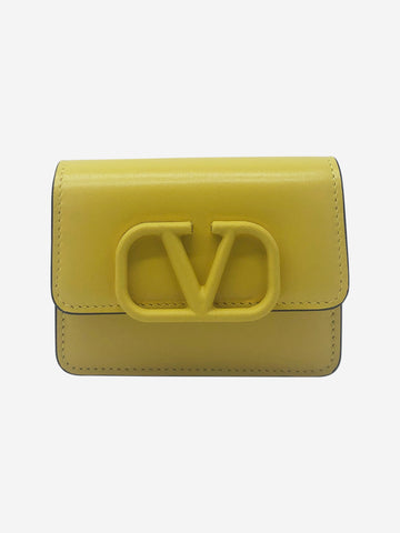Yellow mini purse
