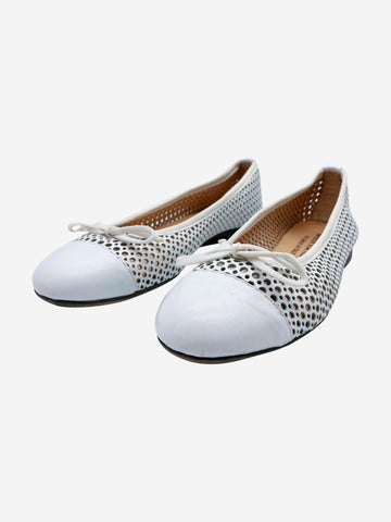 White Ballet pumps - size EU 37 (UK 4)