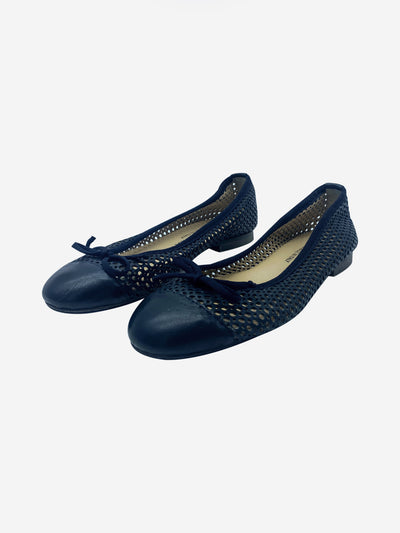 Blue ballet pumps - size EU 37
