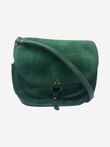 Green Felix cross-body bag