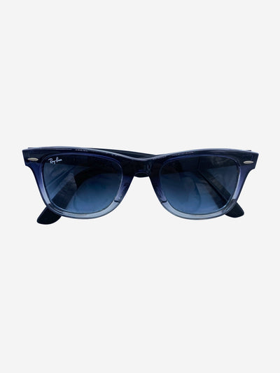 Wayfarer RB2140 blue gradient sunglasses