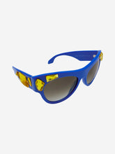Load image into Gallery viewer, SPR22Q Voice blue & gold jewel sunglasses
