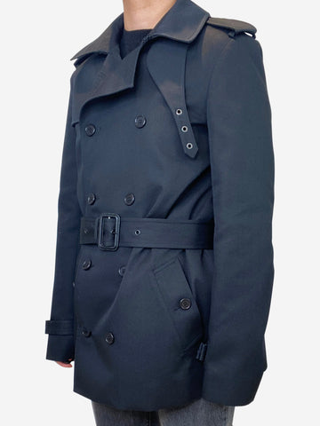 Black trench coat - size FR 40