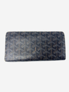 Goyard Matignon black & brown wallet - size GM