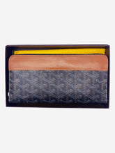 Load image into Gallery viewer, Matignon black & brown wallet - size GM