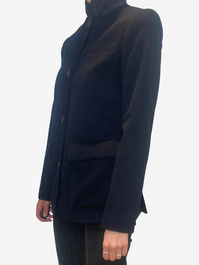 Navy short cashmere jacket - size IT 40