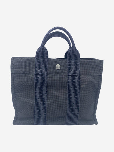 Grey mini tote bag - size PM