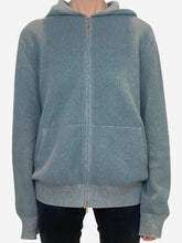 Load image into Gallery viewer, Blue Loro Piana Hoodie, L