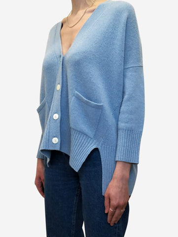 Pale blue cardigan - size XS