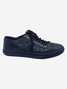 Chanel Black Chanel Trainers, 5