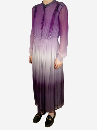 Purple and Lylac Burberry Dresses, 12