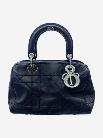Black Dior Top handle