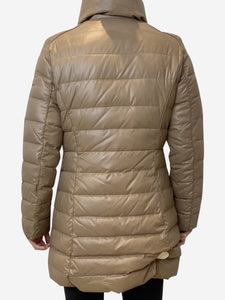 Weekend Max Mara Beige long sleeve puffer - size S