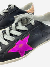 Load image into Gallery viewer, Black & Pink Golden Goose Trainers, 3