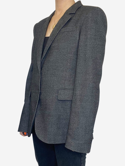 dark grey Gucci Blazer, 10