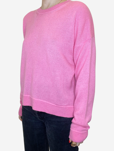 Pink cashmere jumper - size S
