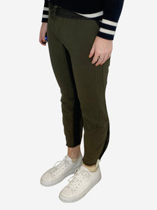 Haider Ackermann Khaki jogging bottoms - size XS