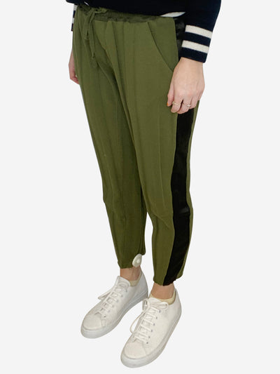 Green joggers - size XS