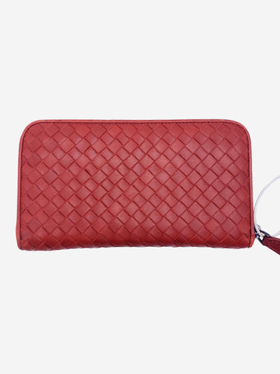 Rust Bottega Veneta Wallet