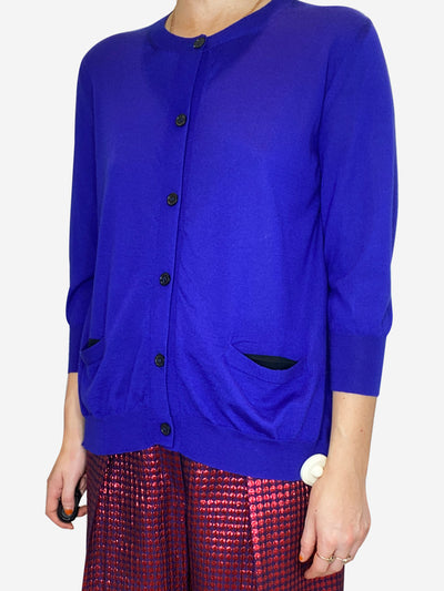 Royal blue cardigan - size IT 42