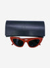 Lily SL 213 red cat eye sunglasses