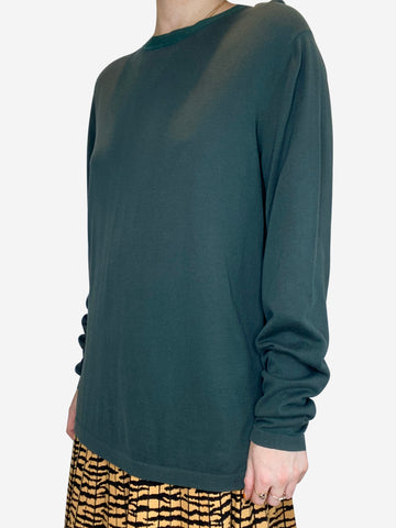 Green Loro Piana Sweaters, S