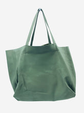 Load image into Gallery viewer, Grey Cabas large leather shopper