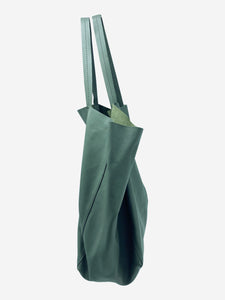 Celine Grey Cabas large leather shopper