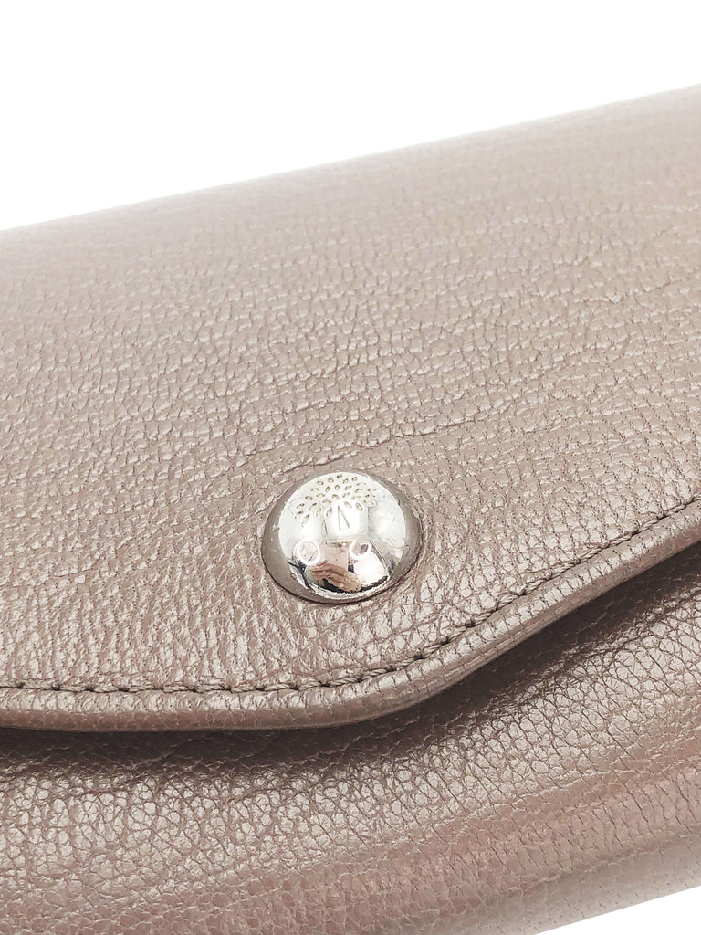 Mulberry Brown Grain Purse