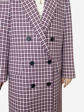 Load image into Gallery viewer, Purple & White Burberry Coats, 10