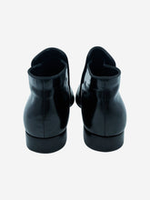Load image into Gallery viewer, Black patent leather ankle boots - size EU 39