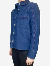 Load image into Gallery viewer, Blue See By Chloe Denim Shirt, 10