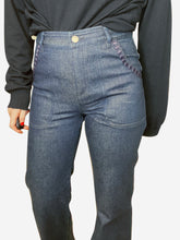 Load image into Gallery viewer, Dark navy bootcut jeans - waist 26