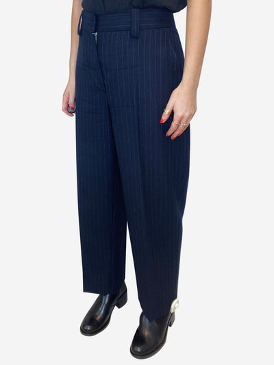 Navy Acne Trousers, 12