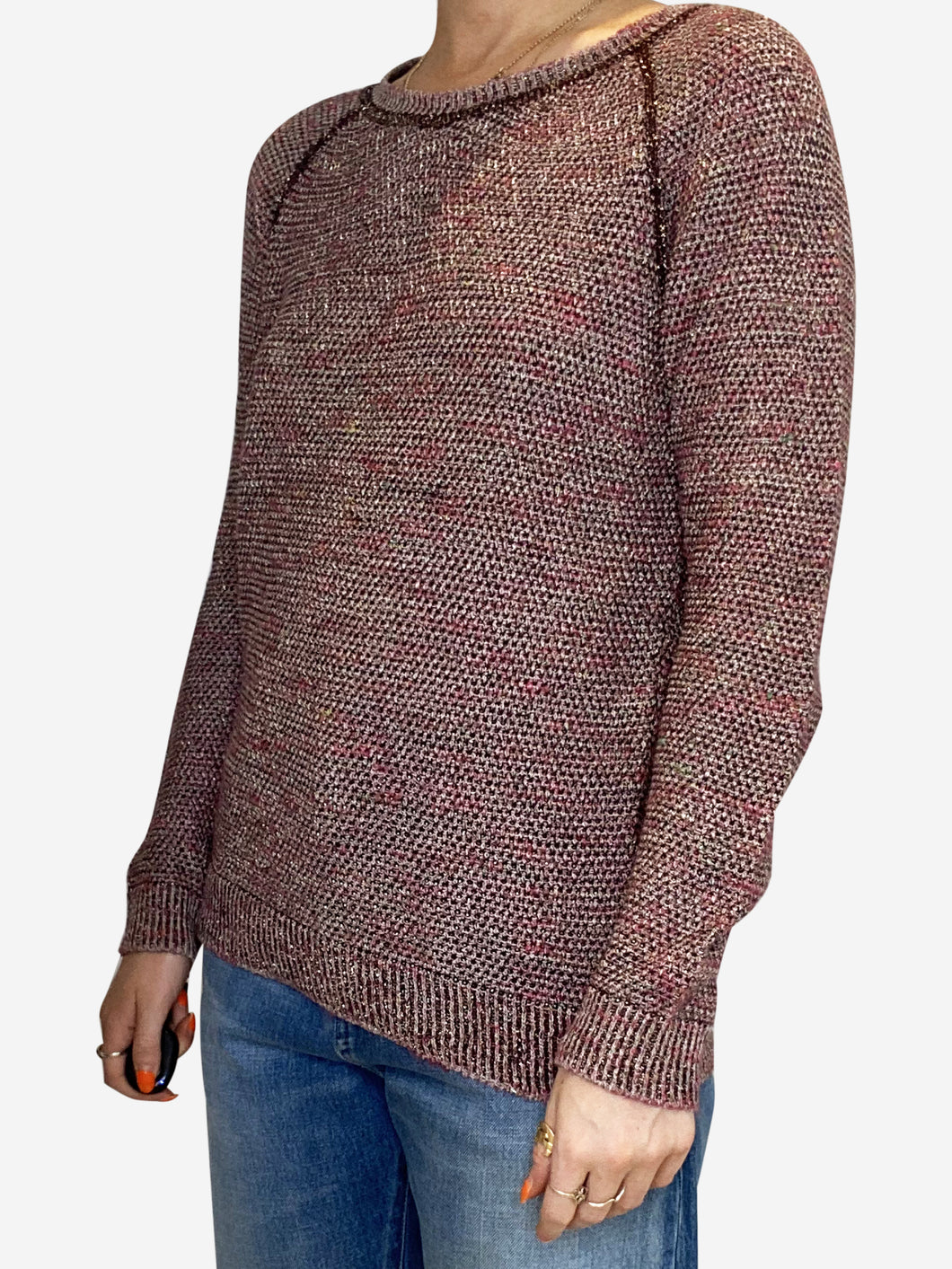 Pink and burgundy Isabel Marant Sweater, 10