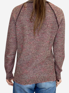 Isabel Marant Pink and burgundy Isabel Marant Sweater, 10