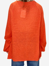 Load image into Gallery viewer, Orange Wild Fox Sweaters, XS