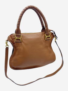 Chloe Brown Marcie medium leather tote bag
