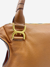 Load image into Gallery viewer, Brown Marcie medium leather tote bag