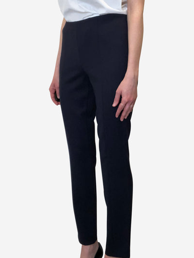 Navy straight leg trousers - US 6