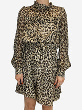 Load image into Gallery viewer, Leopard Kate Spade L/S, 10