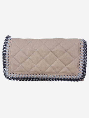 Pale pink Fallabella wallet