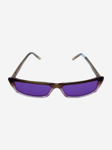 Agar pink and purple thin sunglasses