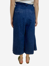 Load image into Gallery viewer, Blue denim culottes- size UK 12