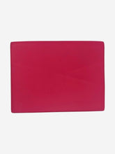 Load image into Gallery viewer, Pink, navy and grey Panama leather writing folder