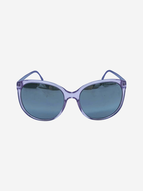 Lilac BE4146 silver mirrored sunglasses