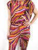 Emilio Pucci Printed Silk Top and Trouser Set Size 6 RRP £870