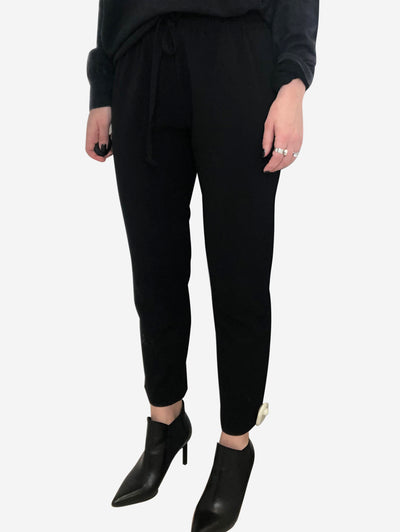 Black trousers - size 10
