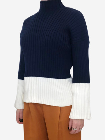 Blue & White Polo Ralph Lauren Sweaters, S
